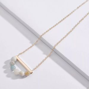 Necklace with Natural Amazonite